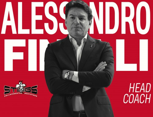 Intervista all'Head Coach della Pompea Mantova Alessandro Finelli