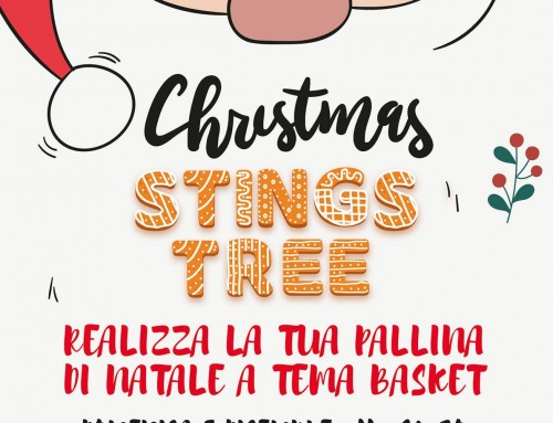 Domenica Christmas Stings Tree alla Grana Padano Arena!