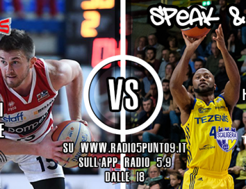 Speak & Roll del 10 dicembre – Le interviste a Mitchell Poletti e Rotnei Clarke